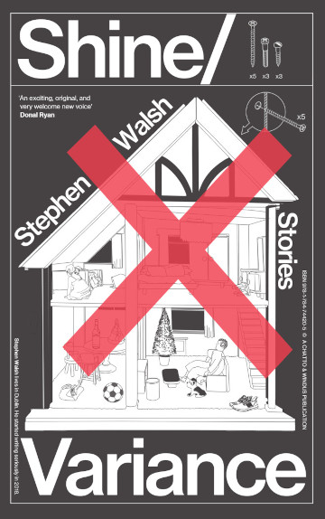 Image of the cover of the Shine/Variance collection of stories by Stephen Walsh