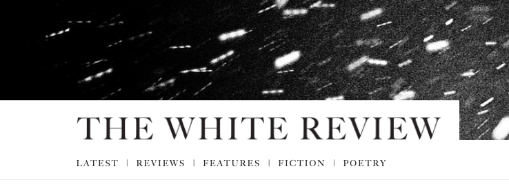 The White Review published Stephen's work